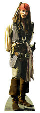 Neu! JACK SPARROW LIFESIZE PAPP FIGUR AUFSTELLER STANDUP Johnny Depp POTC