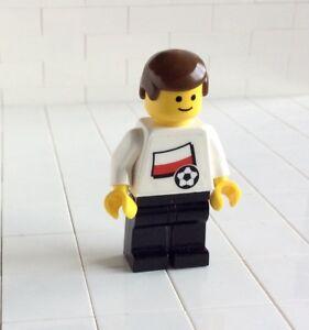 Lego-Figur-Minifig-Soccer-Fussball-3404-Polen-Nr-13-973