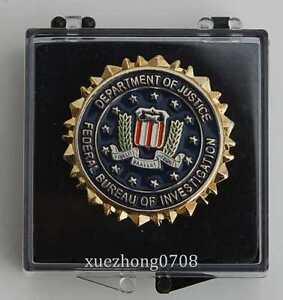 us department of justice federal bureau of invertigation lapel badge ebay. Black Bedroom Furniture Sets. Home Design Ideas