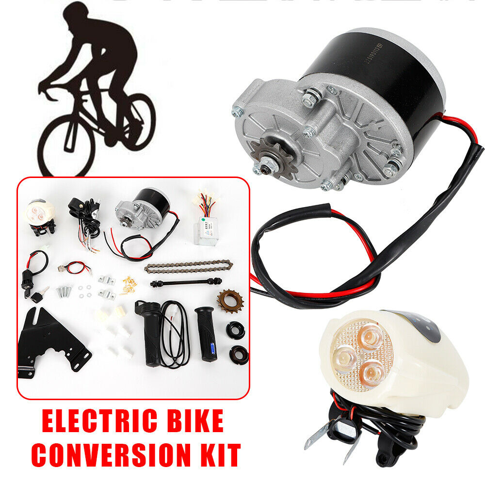 24V 36V 250W Electric Bike Conversion Kit E-Bike Motor Controller For 22-28  New