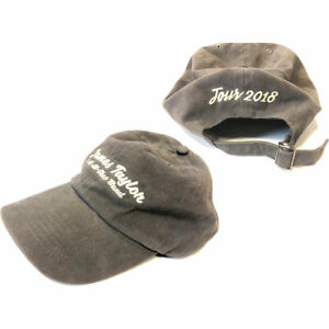 James Taylor Hat Cappello Tour 2018 Official Merchandise