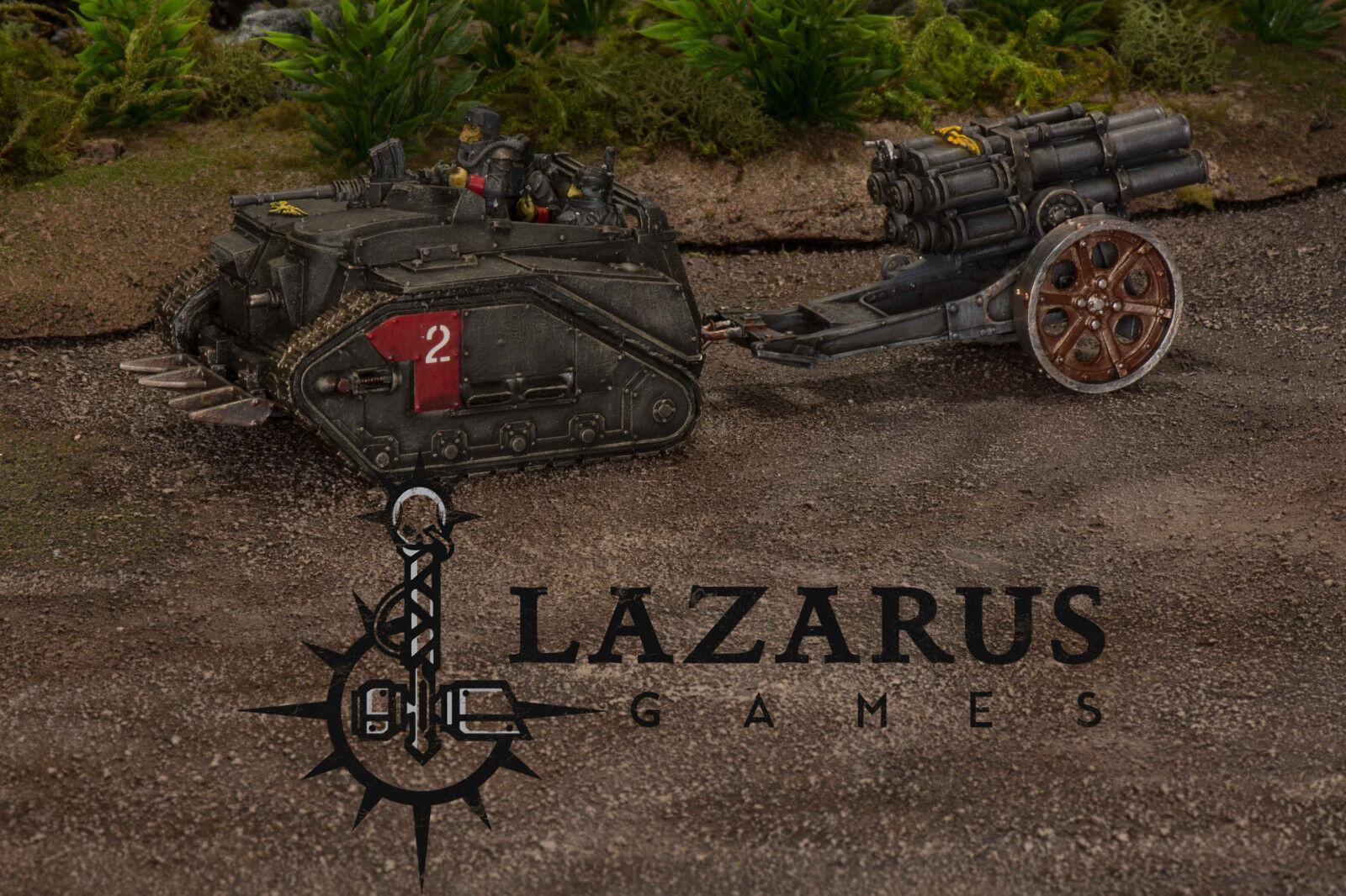 Warhammer 40k Astra Militarum Guard-Death Korps de Krieg Centauro con thudd pistola