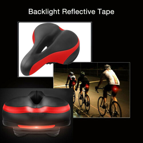 Comfortable Waterproof Memory Foam Bicycle Seat CushionBicycles With Reflective