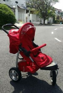 Mothercare-3-wheel-Stroller-with-car-seat