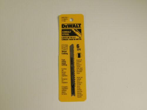 "Dewalt 3703-1 Cobalt Steel Jig Saw Blade 4/"""