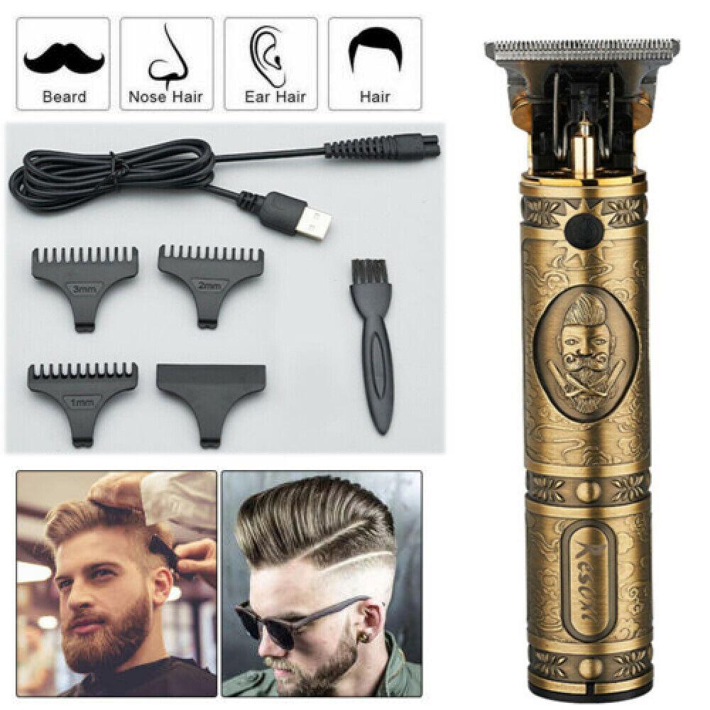 Pro Hair Clipper Hair Cutting Machine Beard Barber Hair Trimmer Hair Cutter  USA