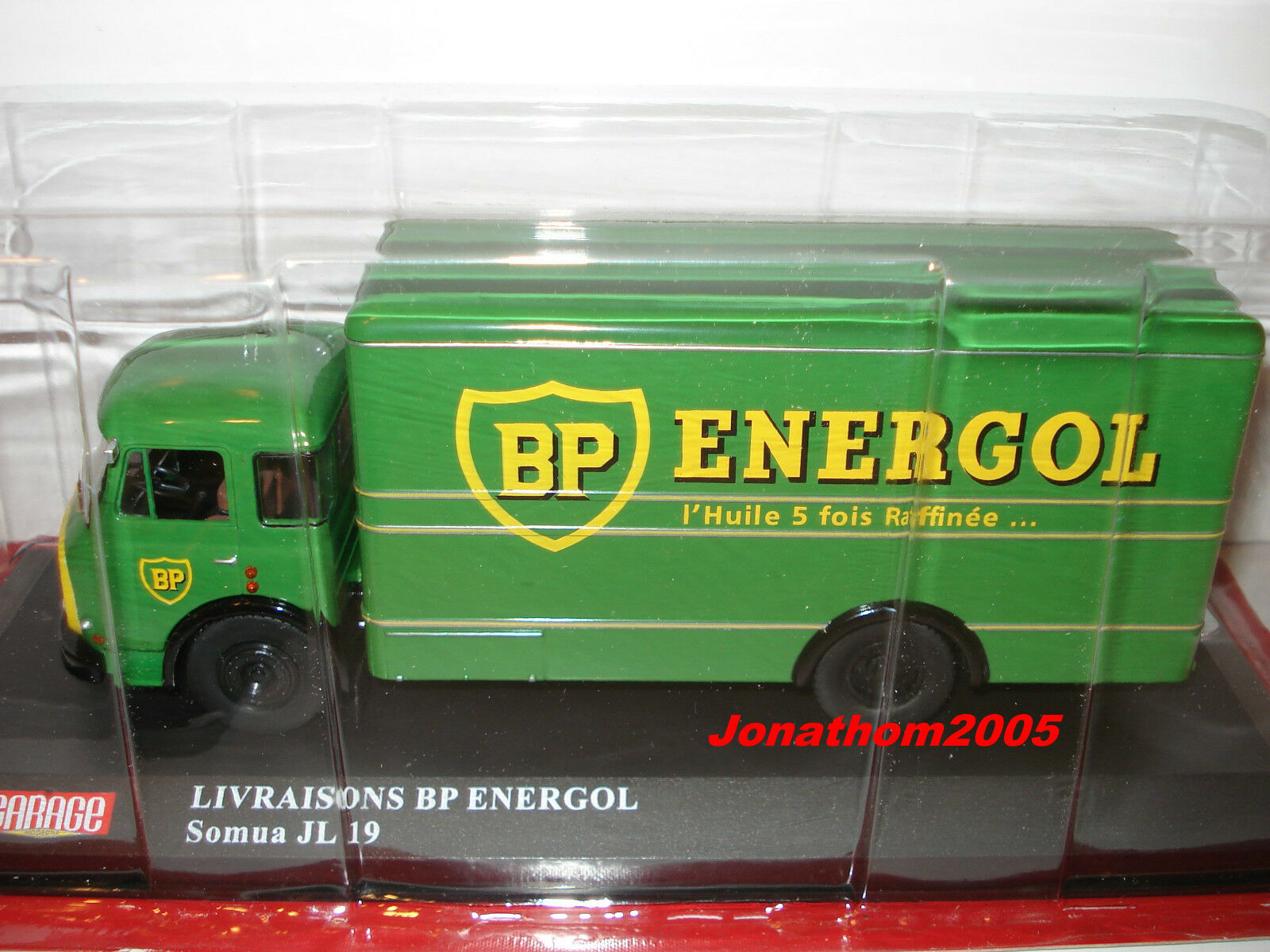 VEHICLES OF THE GARAGE MODERN SOMUA JL 19 DELIVERIES BP ENERGOL to the 1 43°