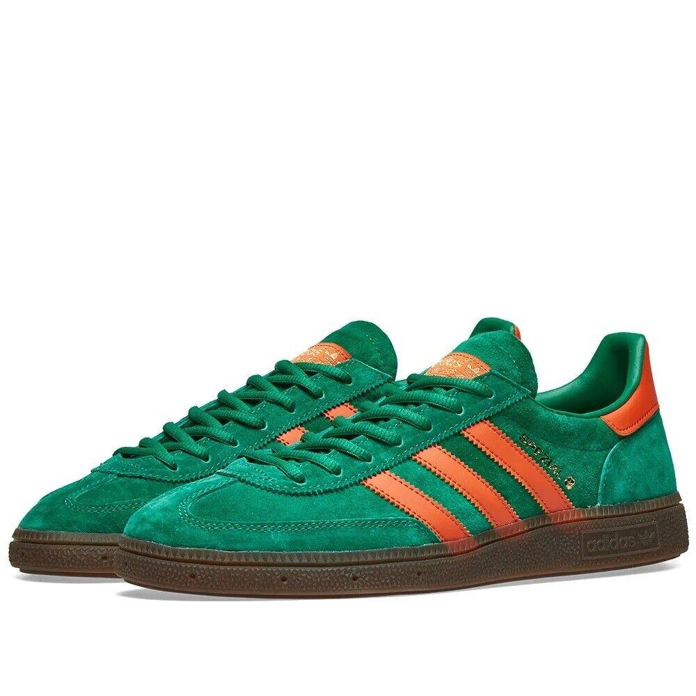 Adidas Handball Spezial Bold Green, Raw Amber & Gum BD7620