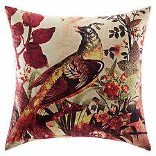 Tracy Porter Poetic Wanderlust Maribelle Bird Decorative Square Pillow Brown