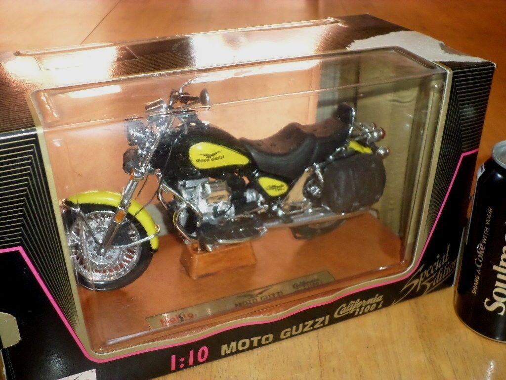 godendo i tuoi acquisti MOTTO GUZZI - CALIFORNIA 1100 MOTORCYCLE, MOTORCYCLE, MOTORCYCLE, MAISTO DIE CAST METAL FACTORY giocattolo,1 10  sconto