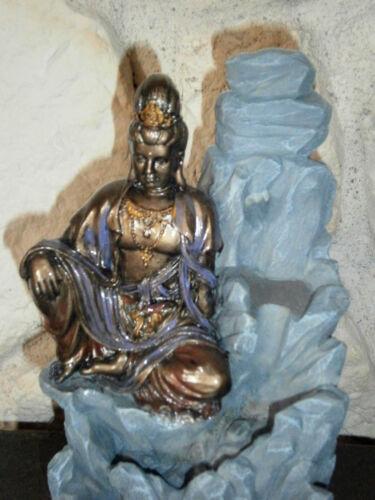 Räucher Buddha mit Räucherkegel Figur Statue Räucherduft 9695