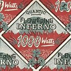 1000 Watts [LP] by Flowering Inferno/Quantic (William Holland) (Vinyl, Jun-2016, 2 Discs, Tru Thoughts)