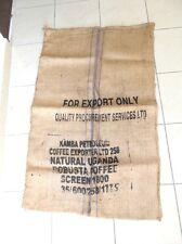 Sacco in Juta da caffè capienza 50 kg UGANDA arredo
