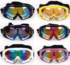 Ski Snowboard Snowmobile Motorcycle Cycling Snow Goggles Eyewear Glasses UV400