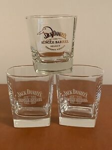 3 Jack Daniels Single Barrel Roches Ré Sipper Lunettes Tennessee Whiskey Canard-afficher Le Titre D'origine Q9qffikd-08002410-772070404