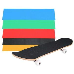 Skateboard Deck Sandpaper Grip Tape Skating Board Longboarding 23 x 84cm Surpris