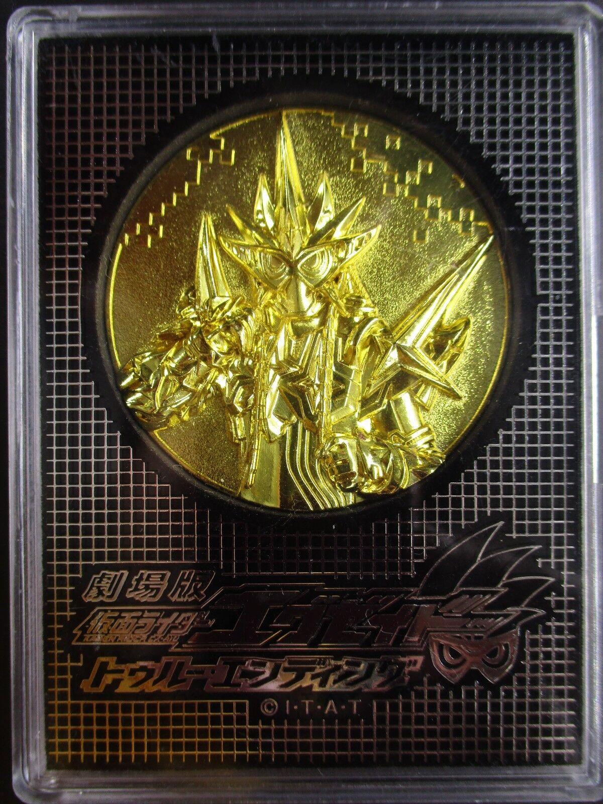 Kamen Rider EX-AID invincible Muteki gamer Toei Movie version Japanese medals