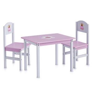 Kindermöbel Kinder Möbel Sitzgarnitur Kindertisch 3 Teilig Tisch