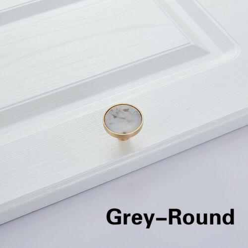 1pc Drawer Handle Stone Shell Pattern Wardrobe Door Drawer Pulls Knobs Furniture