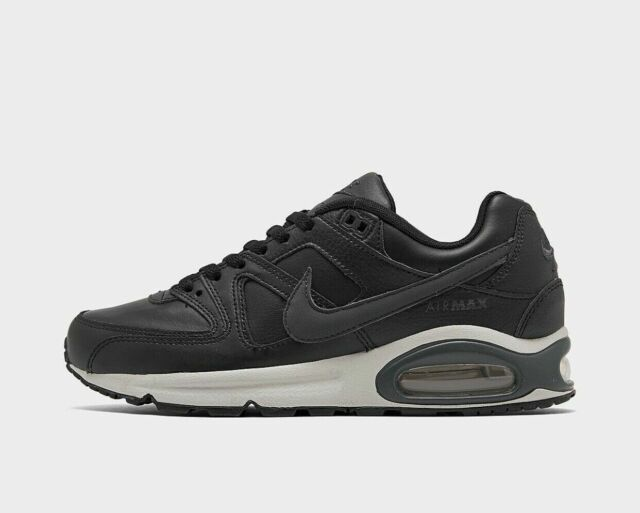 Nike Air Max Command Leather Black Mens