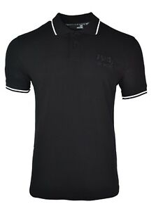 Love amp; Black Polo Bnwt Chest White Logo Moschino Embroidered Shirt OxqUwd8aU