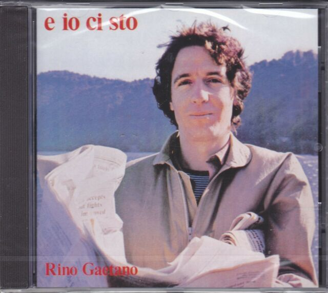 Cd Audio RINO GAETANO - E IO CI STO nuovo sigillato