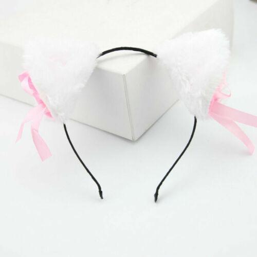Furry Cat Fox Ears Headband Hairband Cosplay Costume Accessories Personal Good