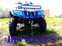 Arctic Cat Blue Eyes Headlight Covers Mud Pro And Prowler Rukindcovers