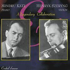 Henryk Szeryng , Violin & Mindru Katz, Piano - A Legendary Collaboration