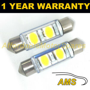 2X-WHITE-CANBUS-NUMBER-PLATE-INTERIOR-SAMSUNG-SMD-LED-BULBS-30-36-39-42-44MM-OE