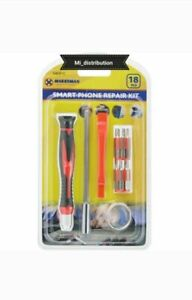 Family Must-Have Repair Tool for Phone Repair JF-6688 5 in 1 Metal Multi-Purpose Pen Style Screwdriver Set for Phone Color : Red Convenient