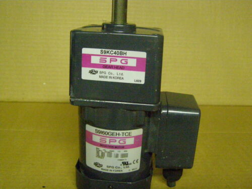 S9160GEH-TCE    SPG motor with  S9KC40BH gearbox