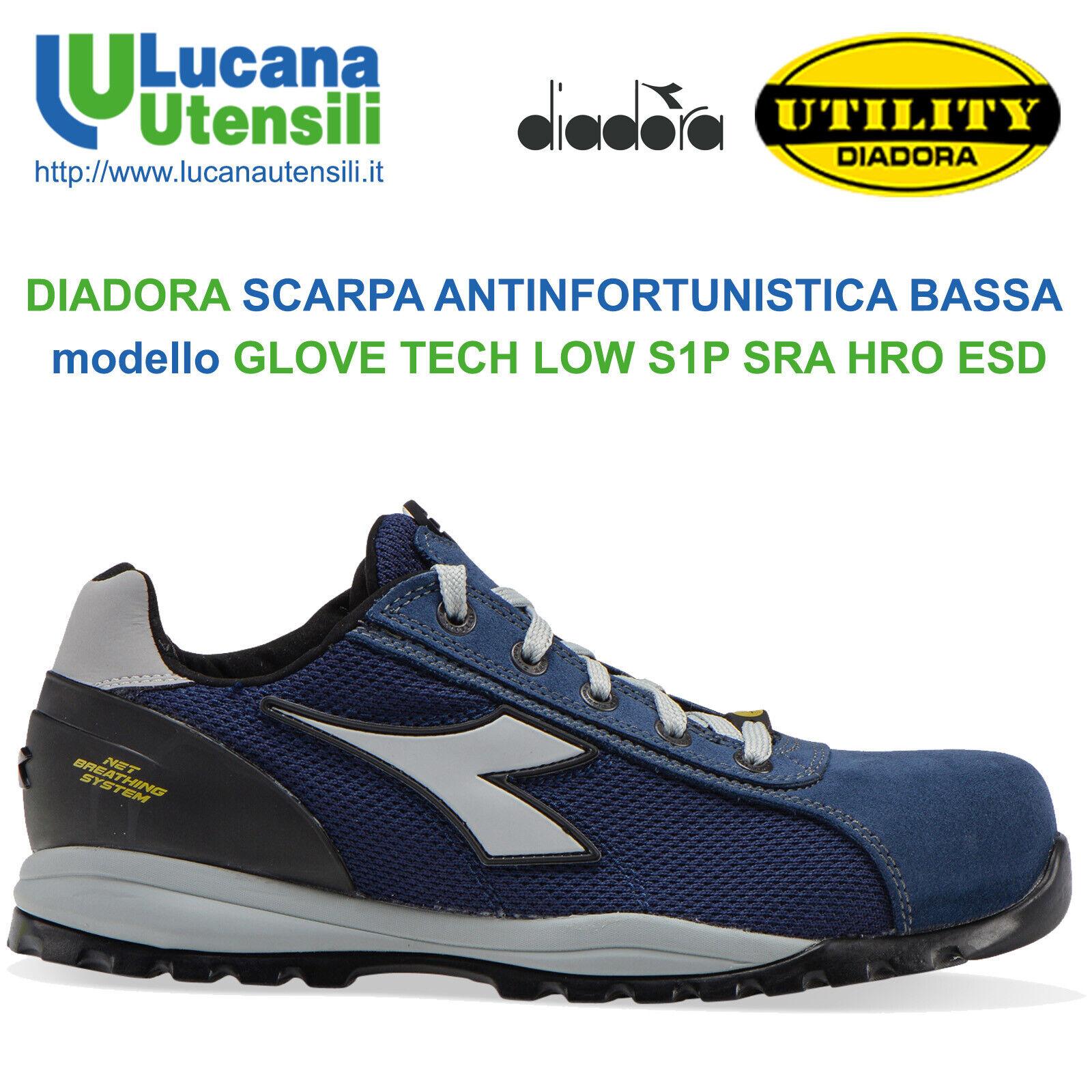 Chaussures de s/écurit/é Mixte Adulte Diadora Glove II Text S1p HRO