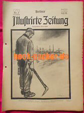 BERLINER ILLUSTRIRTE ZEITUNG 1923 Nr. 3: Die Besetzung Essens durch Truppen