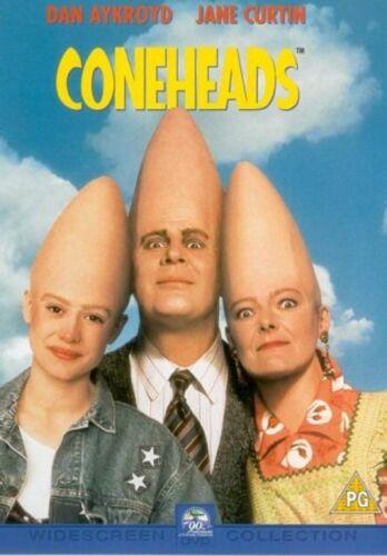 1 of 1 - Coneheads DVD Dan Aykroyd Jane Curtin cone heads Original UK Rel New Sealed R2