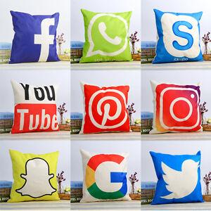 18-039-039-Social-Media-Theme-Cushion-Cover-Cotton-linen-Throw-Pillow-Case-Home-Decor