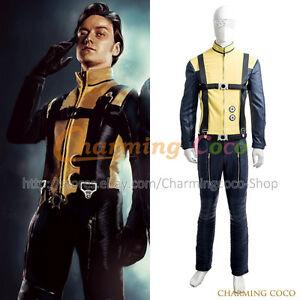 X-Men: First Class Erik Lehnsherr Magneto Cosplay Costume ...