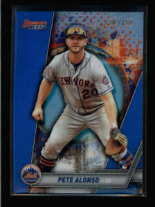 PETE-ALONSO-2019-BOWMAN-039-S-BEST-32-ROOKIE-BLUE-REFRACTOR-150-150-FC307