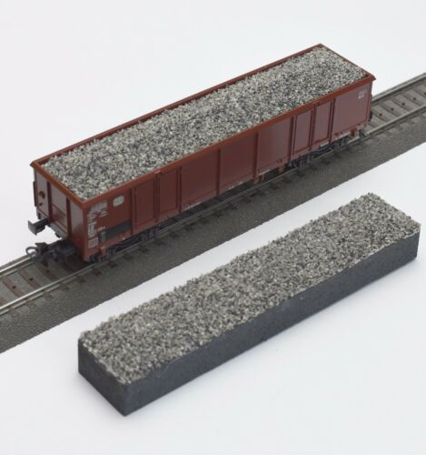 embalaje original 220 enormemente para Märklin h0 vagones eaos 4716 4717 4690 grava gris