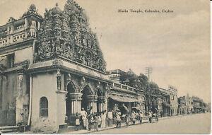 PC36902 Hindu Temple. Colombo. Ceylon. John and Co. B. Hopkins