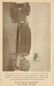 1926 Mueller Furniture Company Card Grand Rapids Michigan Ebay