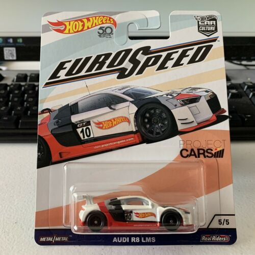 Hot Wheels Car Culture Real Riders Euro Speed Project Cars Audi R8 LMS