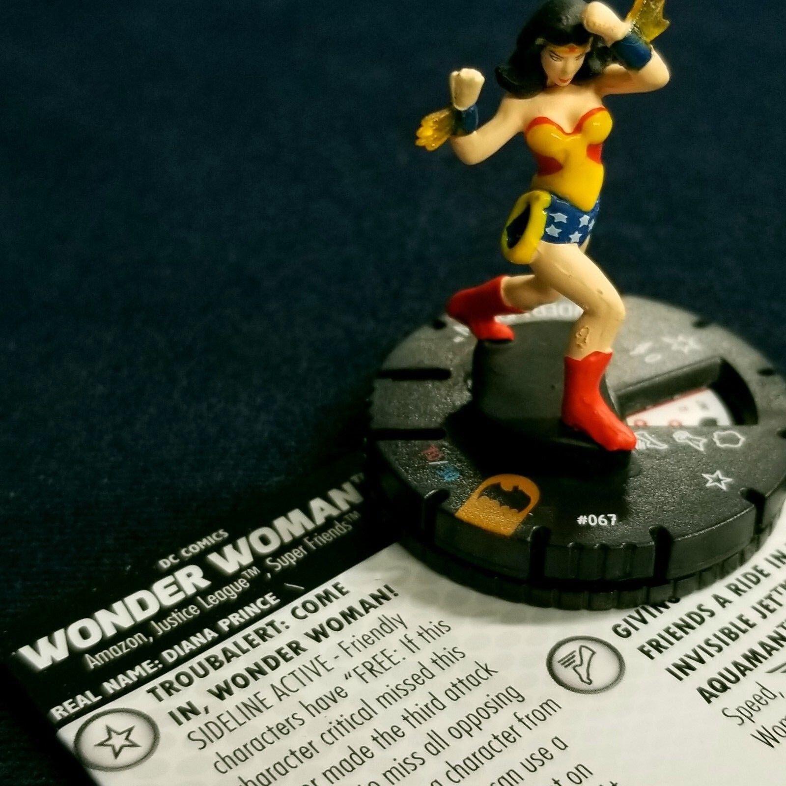 WONDER WOMAN - 067 -  CHASE Batman Animated Heroclix