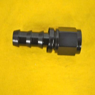 8 An Straight Hose End Push Lock Tite Fitting Jic