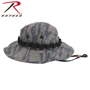 a2bee7c578d Details about ROTHCO VINTAGE VIETNAM STYLE BOONIE HAT TIGER STRIPE CAMO