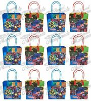 Cartoon Network Transformers Party Favor Supplies Goody Loot Gift Bags [12ct]