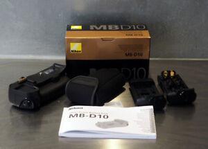 Genuine Nikon MB-D10 Grip Batterie pour Nikon D300, D300s, D700 etc Boxed