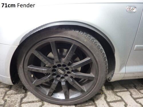 2x RUOTA CARBONIO opt minigonne 120cm per PEUGEOT BOXER BUS TUNING