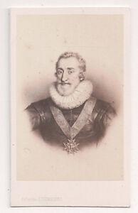 Vintage-CDV-King-Henry-IV-of-France-E-Desmaisons-Ph