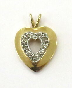 14K-Yellow-amp-White-Two-Tone-Gold-Heart-Charm-Pendant-with-Diamonds-1-1g